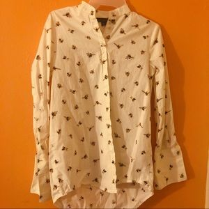 Victoria Beckham for Target Bee Button Up
